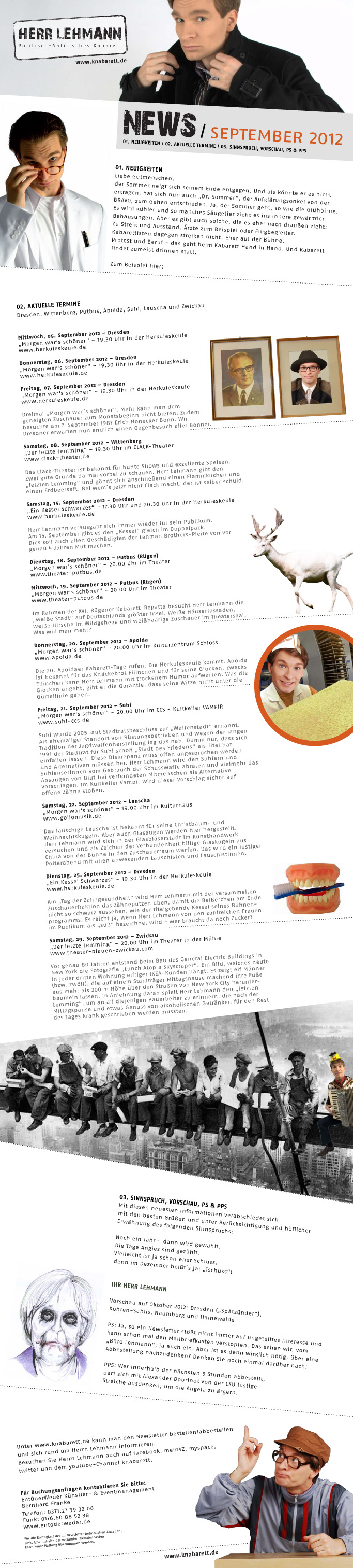 Newsletter September 2012